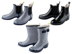 ESMARA®  Regenstiefel Damen, mit Anziehhilfe, auswechselbare Einlegesohle, rutschhemmend