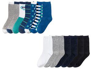 PEPPERTS® Socken Jungen, 7 Paar, mit Baumwolle, mit Elasthan