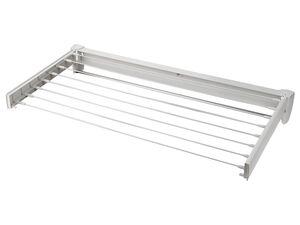 LEIFHEIT Wandtrockner »Telegant 81«, 8,1 m Trockenlänge, mit Handtuchstange aus Aluminium
