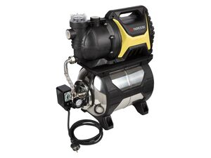 PARKSIDE® Hauswasserwerk »PHWW 1200«, 1200 Watt, mit Rückflussstopp-Adapter, aus Edelstahl