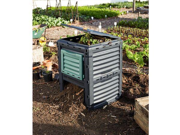 Parkside Komposter 300 L Volumen Klappbarer Deckel Witterungsbestandig Aus Kunststoff Von Lidl Ansehen