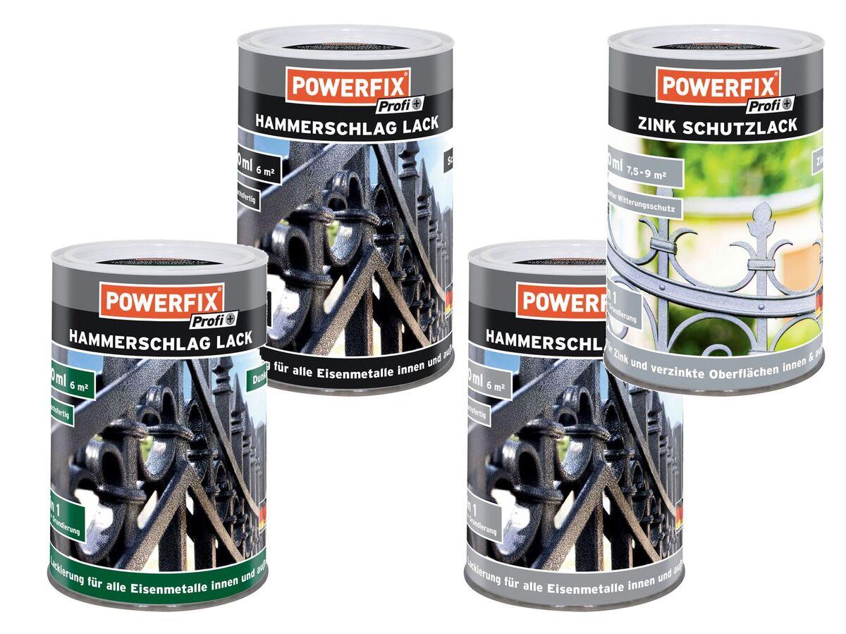 Bild 1 von POWERFIX® Hammerschlaglack 750 ml / Zinkschutzlack 750 ml
