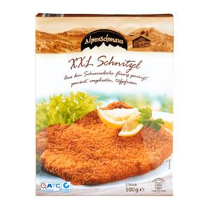 ALPENSCHMAUS     XXL Schnitzel