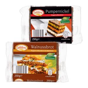 GOLDÄHREN     Pumpernickel / Walnussbrot