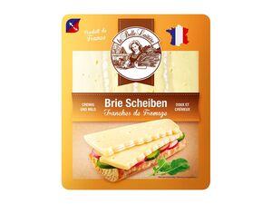 Brie in Scheiben
