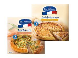 Lachstarte/ Zwiebelkuchen