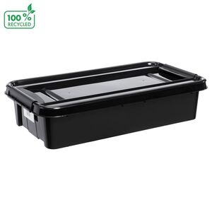 Recycle PRObox Unterbettbox mit Rollen 31L