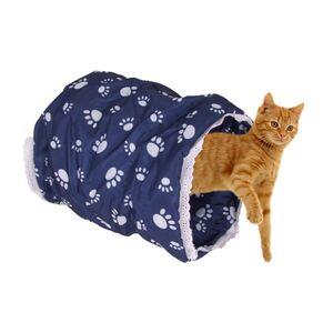 Rascheltunnel für Katzen