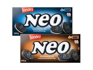 Neo Kakaokekse mit Cremefüllung