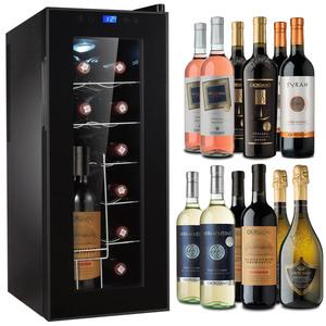 Aktionspaket 12er Weinkühlschrank + 12 Flaschen Giordano Wein