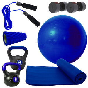 Lamar Fitness-Set V2 - blau