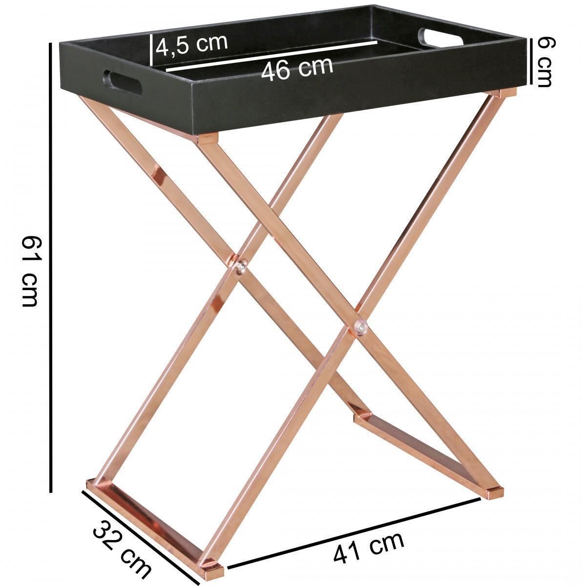 Bild 3 von WOHNLING Beistelltisch TV-Tray