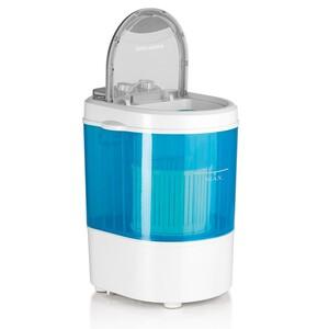 EASYmaxx Mini-Waschmaschine 260W weiß/blau