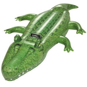 Bestway XL Schwimmtier Krokodil aufblasbar mit Griff
