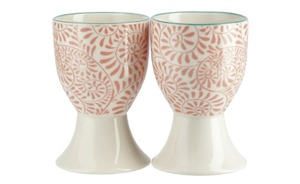 Eierbecher Pink, 2er-Set