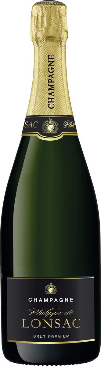 Bild 2 von Philippe de Lonsac Champagner Brut Premium 0,75 ltr