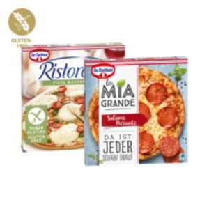 Dr. Oetker Pizza La Mia Grande oder Ristorante Glutenfrei