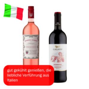 Galassi Cagnina Romanga dolce oder Doppio Passo Primitivo Rosato