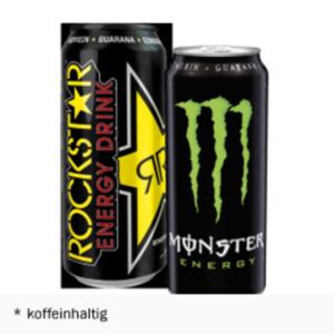 Monster oder Rockstar Energy