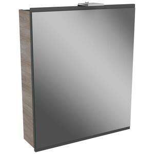 Spiegelschrank in Esche mit Drehtüre 'Lima'