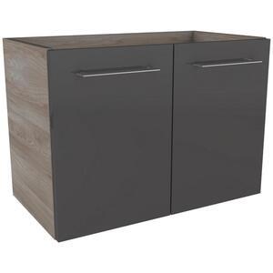 Waschtischunterschrank in Grau/Esche 'Lima'