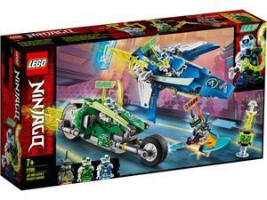 LEGO® NINJAGO® 71709 - Jay und Lloyds Power-Flitzer