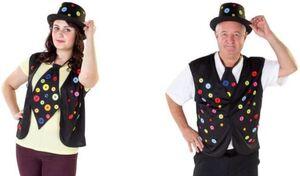 Krawatte - Knöpfe - für Erwachsene