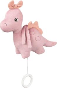 PUSBLU Spieluhr Dino, rosa