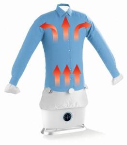CLEANmaxx Dampfbügler für Hemden und Blusen Dampfprogramm für trockene Kleidung