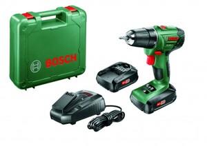 Bosch Akkubohrschrauber PSR 1800 LI-2 18 V, 2 x 1,5 Ah Akku