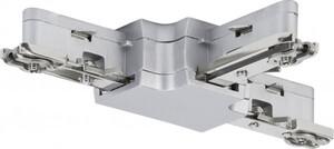 Paulmann URail Schienen-System-Zubehör T-Verbinder 230 V, chrom matt