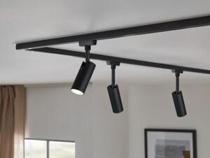 Paulmann URail LED Spot Tubo schwarz matt, 4,5 W