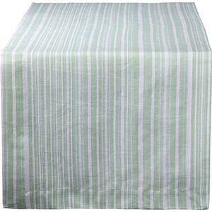 Galeria Selection Tischläufer, Streifen, 40x150, lindgrün, 040x150 cm