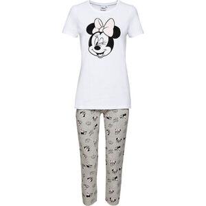 manguun Pyjama, 3/4 Länger, Print, Mickey Mouse, für Damen