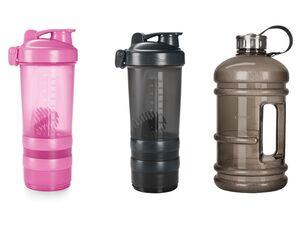 CRIVIT® Trinkflasche/ Proteinshaker, BPA-frei