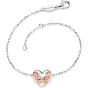 Engelsrufer Damen Armband With Love, 925er Silber, silber/roségold, keine Angabe