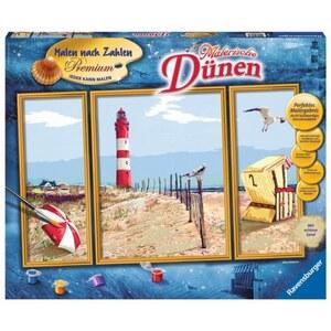 Ravensburger  Malen nach Zahlen Premium: Malerische Dünen