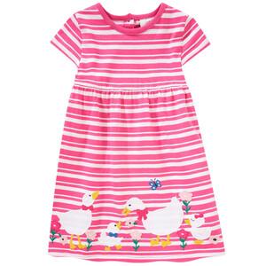 Baby Kleid mit Enten-Applikation