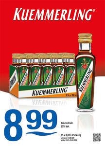 Kuemmerling Kräuterlikör 35% Vol.