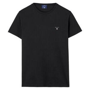 GANT Herren T-Shirt kurzarm - Original SS T-Shirt, Rundhals, Baumwolle