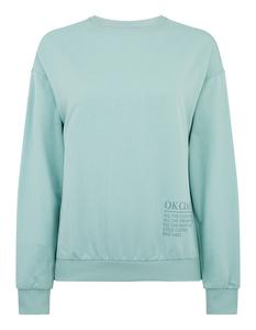 Damen Sweatshirt mit Message-Print