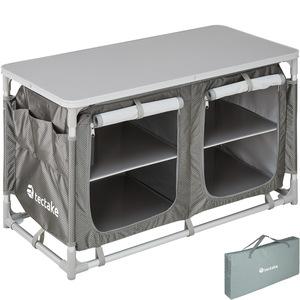 Campingküche 97x47,5x56,5cm grau