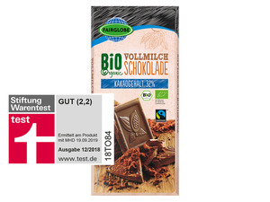 Bio Fairtrade Schokolade Vollmilch