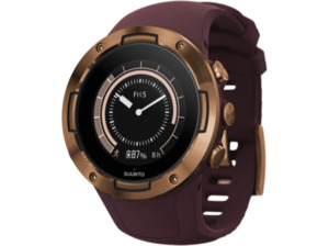 SUUNTO 5 G1 Smartwatch kaufen. Armband: Silikon, 235 mm, Farbe Weinrot | SATURN