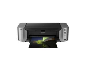 CANON PIXMA Pro 100S Tintenstrahldrucker Grau
