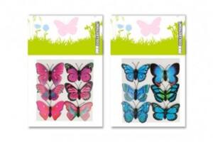 6er Schmetterlinge