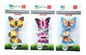 2er LED-Schmetterling