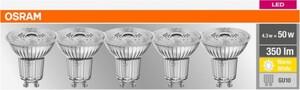 Osram LED Reflektor ,  GU 10, 4,3 W, 5er Pack