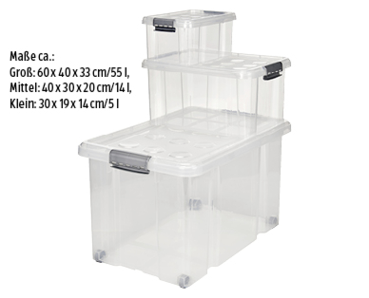 Bild 1 von EASY HOME®  Stapelboxen-Set