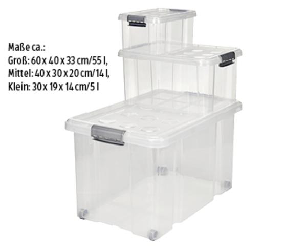 EASY HOME®  Stapelboxen-Set